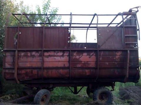 Трактор МТЗ Беларус 920 толкает мажару необыкновенным способом. Belarus pushes Mazhar unusual way.