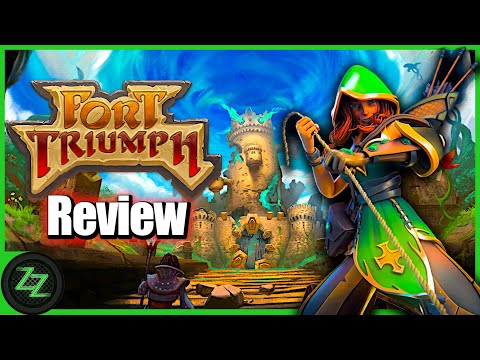 Fort Triumph Review - Test - Fantasy XCOM Trifft Heros Of MM (Deutsch - German, Many Subtitles)