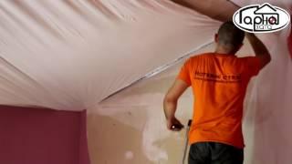 як зробити проводку в підвісній стелі