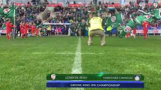 HIGHLIGHTS | London Irish 72-5 Yorkshire Carnegie