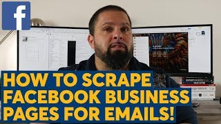 How To Scrape Facebook Business Pages For Emails with ScrapeBox