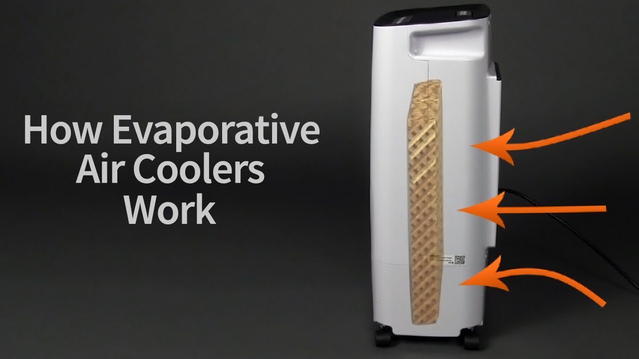 Evaporative Cooler How It Works : How evaporative air coolers work sylvane youtube