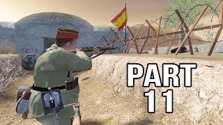 Call of Duty 2 Spanish Civil War Gameplay Part 11 - Anniversary of the war