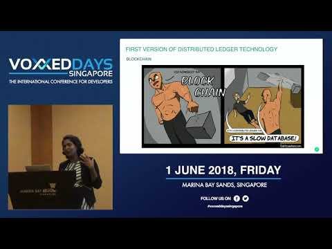Distributed Ledger - Voxxed Days Singapore 2018