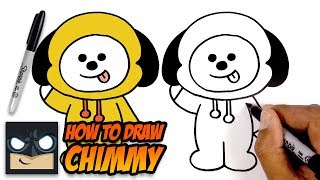 How to Draw Chimmy | BT21 | Step-by-Step Tutorial