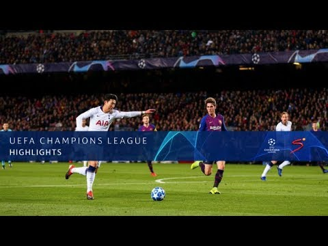 UEFA Champions League | Barcelona vs Tottenham Hotspur | Highlights
