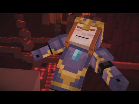 Minecraft Story Mode - PETRA Vs JESSE !! EP7 P4