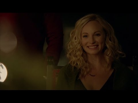 The Vampire Diaries: 8x07 - Caroline's last day with Josie and Lizzie [HD]