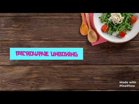 WHIRLPOOL microwave oven magicook pro 22CE black 20 litre unboxing + demo and all features