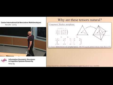 Nihat Ay : Information Geometric structures in Cognitive Systems Research