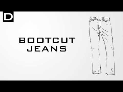 Bootcut (Jeans Schnitt) DENIMO
