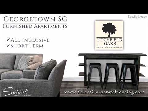 Georgetown SC Furnished Apartments at Litchfield Oaks near Pawley's Island