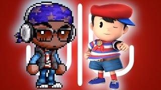 What If Ninten 4th-D Slipped Into Super Smash Bros 4? - Juforade