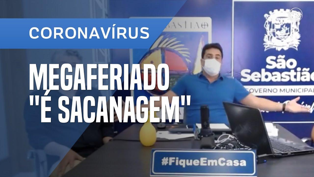 Notícias - PREFEITO DE SÃO SEBASTIÃO DIZ QUE MEGAFERIADO EM SÃO PAULO