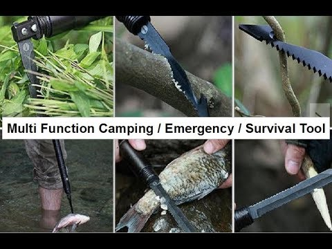 SURVIVAL BATON Multi Function Emergency Tool