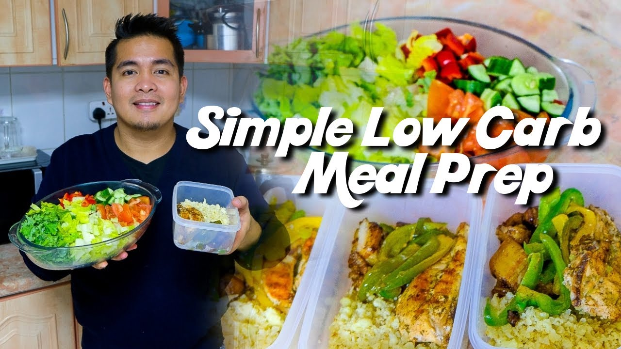 Simple Low Carb Keto Diet Meal Prep Lcif Keto Diet Philippines Youtube