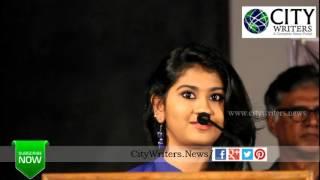 vijay tv super singer fame nithyasri speaks about eetti movie at success meet