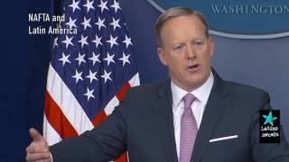 Spicer on DACA, NAFTA and Enrique Peña Nieta (Not a Typo)