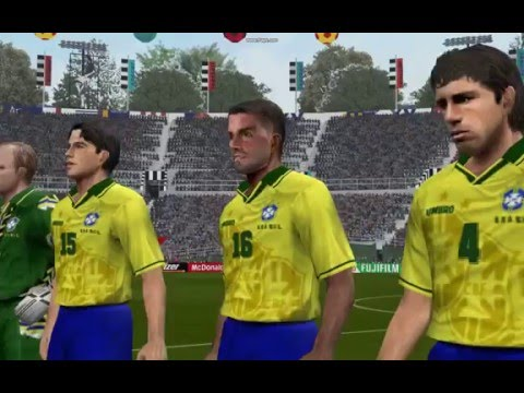 PES6 World cup 1994 finale ITALY BRAZIL