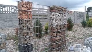 Pomysł na urządzenie ogródu - ściany i murki  z gabionów ! Kar-Group Ełk