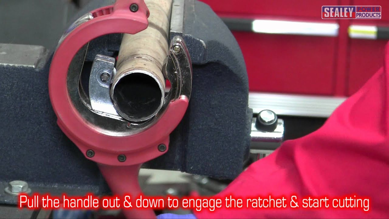 Sealey VS16371 Exhaust Pipe Cutter Ratcheting