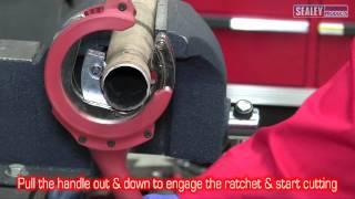 sealey vs16371 ratchet exhaust cutter