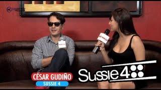 Cesar Gudiño de Sussie 4 nos visita en Sensey TV