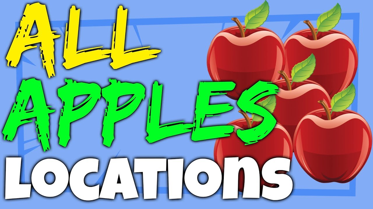 all apple locations where to find apples in fortnite apple tree locations - where do apples spawn in fortnite battle royale season 8