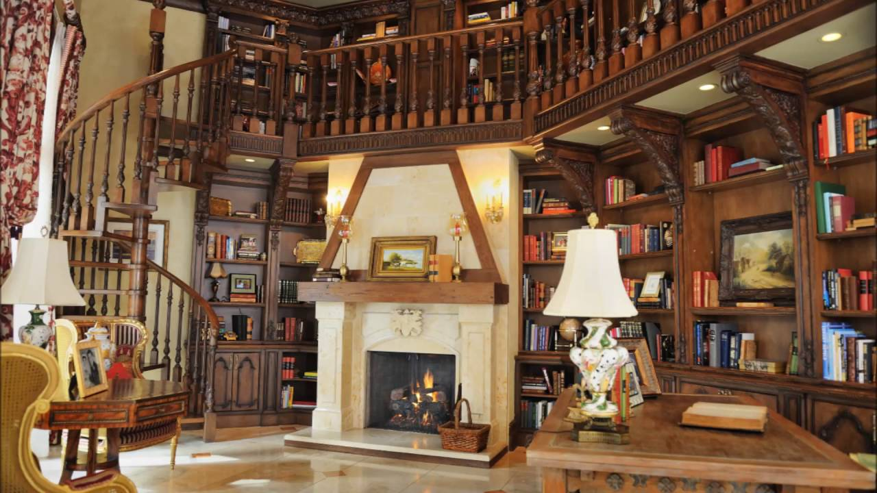Luxury Home Libraries ...