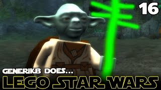 "LEGO STAR WARS The Complete Saga Ep 16 - ""Luke & Master Yoga ;-)!!!"""