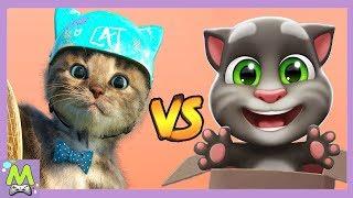 Мой Говорящий Том 2 vs Маленький Котенок и Друзья.Какой Котик Самый Крутой.Игры про Котят