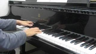 """ピアノで「Gloria」 """"kalafina"""""""