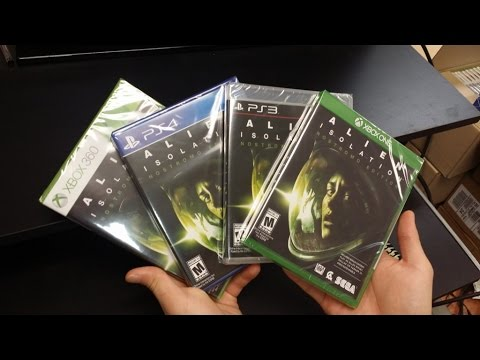 Alien Isolation: Nostromo Edition Unboxing!! (PS3 / PS4 / Xbox360 / XboxOne)