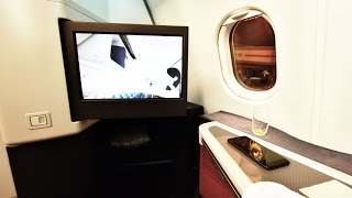 business class   cathay pacific cx137 hong kong to perth a333 flight review