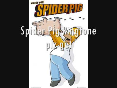 Spider Pig Ringtone
