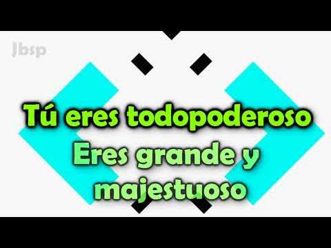 El Poderoso De Israel - Eres Todopoderoso - Cuando Pienso // Miel San Marcos // Letra - Lyrics