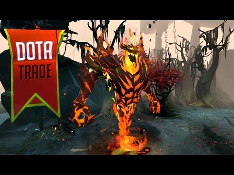 Demon Eater Shadow Fiend arcana custom animation preview Dota 2