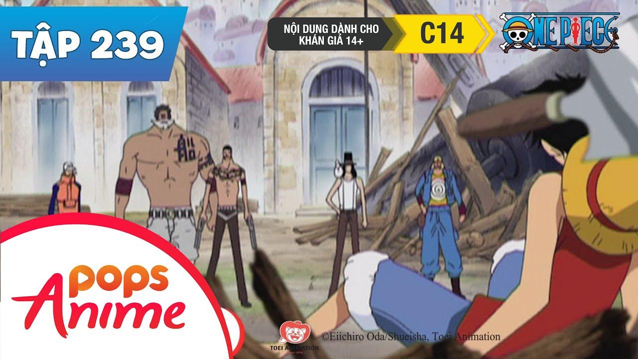 One Piece Tập 239 - Thủ Phạm Là Băng Hải Tặc Mũ Rơm - Vệ Sĩ Của Kinh Đô Trên Mặt Nước|Phim Hoạt Hình
