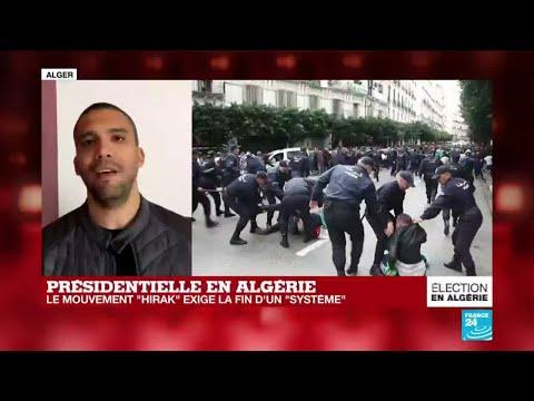 """Présidentielle en Algérie : """"Une probable grève générale vers le 15 décembre"""""""