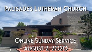 PLC Online Sunday Service and 8.2.20