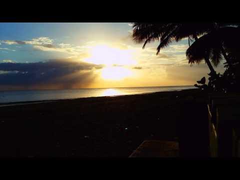 Sunset in Añasco Puerto Rico