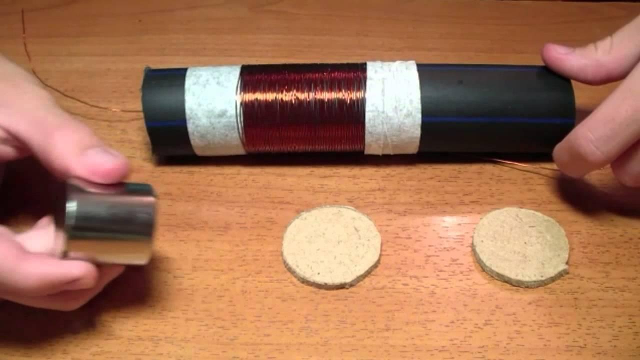 Схема фонарик фарадея