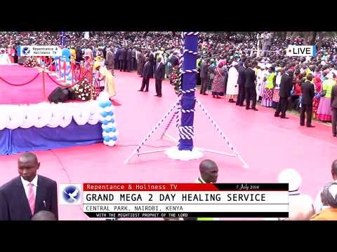 7 July 2018 Grand Mega Healing Service