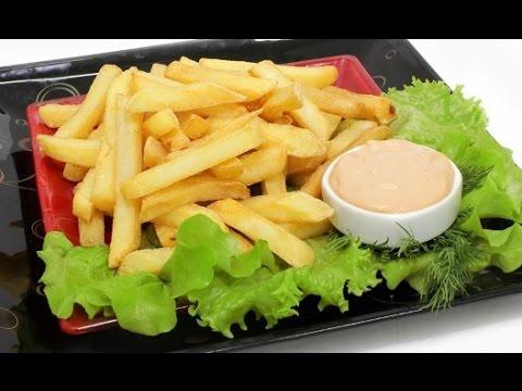 Картофель фри - в казане. Быстро и очень вкусно  без регистрации и смс