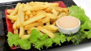 Картофель фри - в казане. Быстро и очень вкусно !!