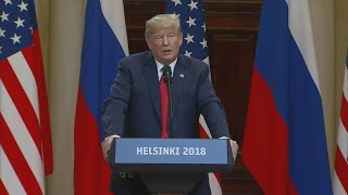 Trump a near-solitary figure after stunning rebuke of Russian election meddling