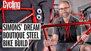 Фото Classic Steel Road Bike Restomod   Simon Smythe's Stunning 2001 Chas Roberts Dream Build!