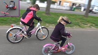 VLOG À ROULETTES • Tours de vélo pour Athena & Kalys qui se fait peur - Studio Bubble Tea