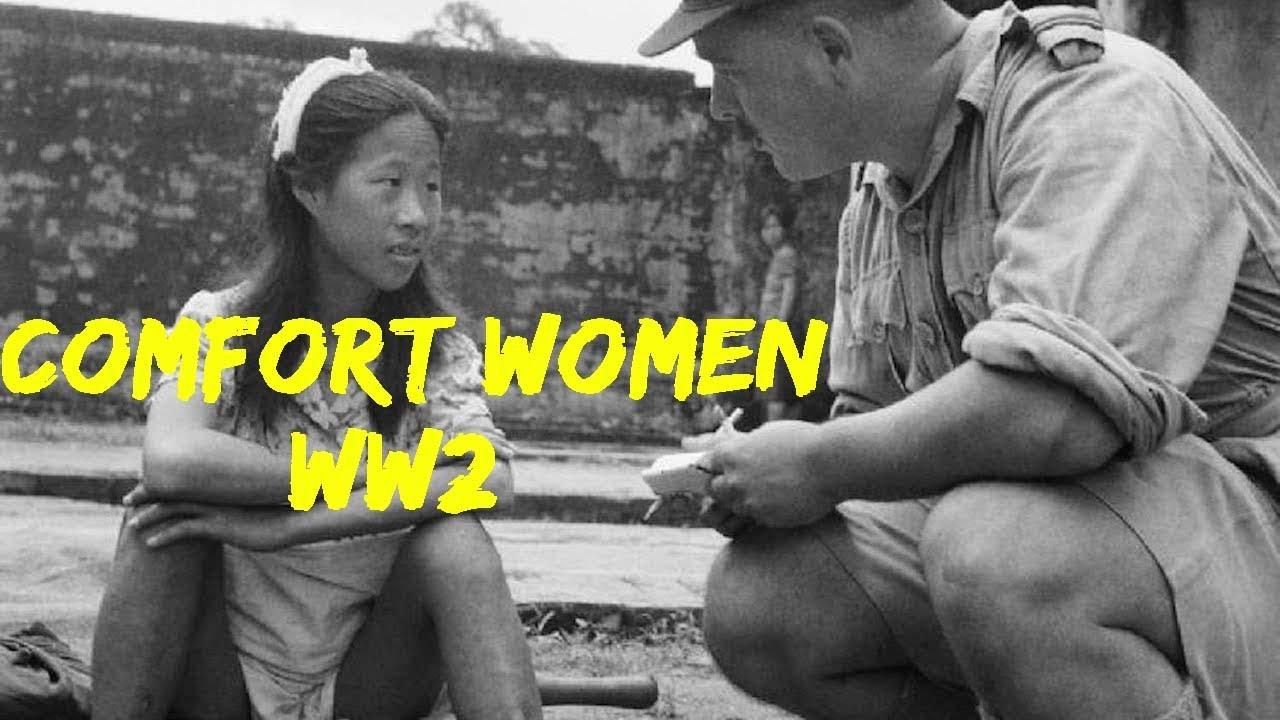 """JAPAN's WAR CRIME """"COMFORT WOMEN"""" - WW2"""