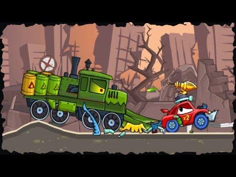Car Eats Car 2 Deluxe Game Walkthrough Level (10 - 20)